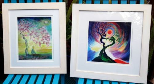 TWO FRAMED PRINTS OF YOUR CHOICE