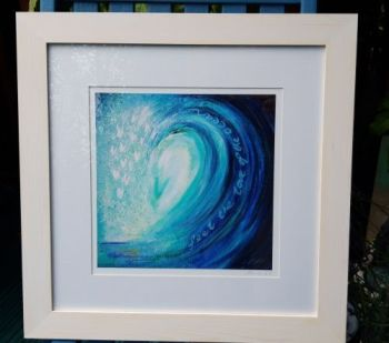 A FRAMED print of YOUR CHOICE from the annie b.  print gallery