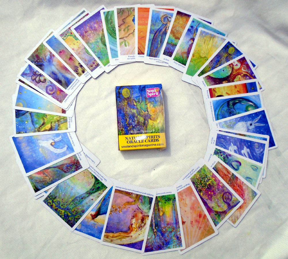 nature spirits circle cards