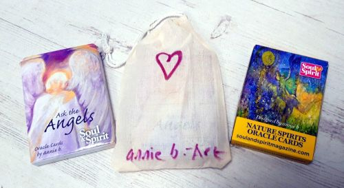 <!-- 001 -->Buy two..Nature Spirits Oracle cards and Ask the Angels Oracle