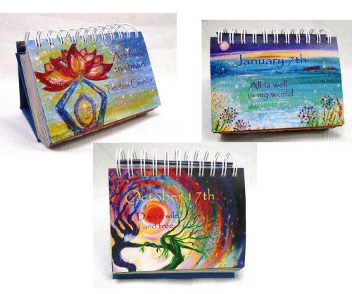 <!-- 001 --> Two Calendar Deal-  Art from the Heart 365 day Timeless mindfu