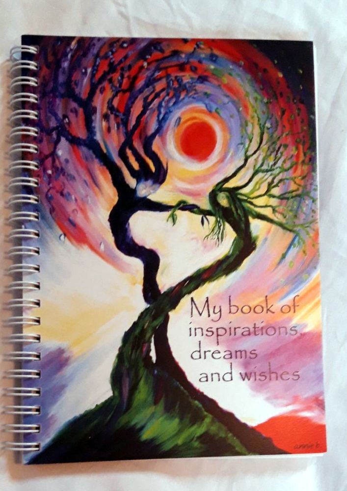 Dancing tree spirits - My book of inspirational dreams and wishes