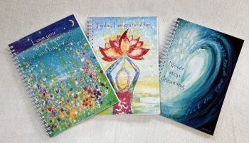 Three Notebooks  deal -  wave gratitude moon