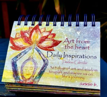 Art from the Heart DAILY INSPIRATIONS Timeless mindful Calendar to enjoy year after year