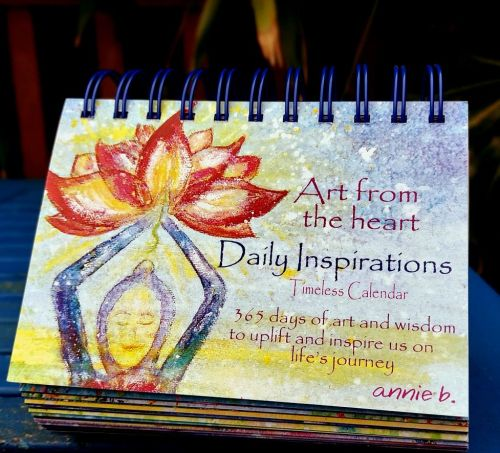 <!-- 001 -->   Art from the Heart DAILY INSPIRATIONS Timeless mindful Calen