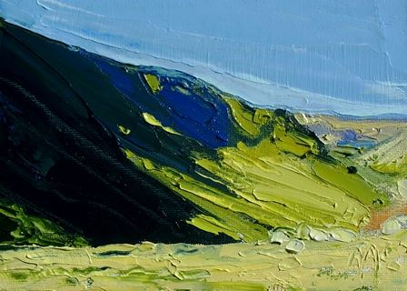 Hillside and Shadows at Hartsop Dodd I - PRINT
