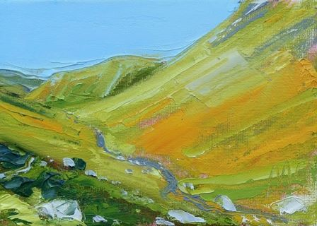 Sun and Valley at Hartsop Dodd - PRINT