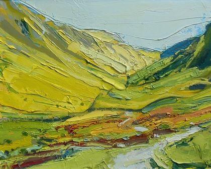 Yellow Valley - Hartsop Dodd - PRINT