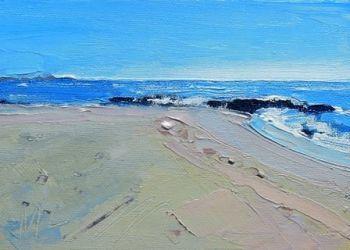 Sea and Sand - Benalmedena - PRINT