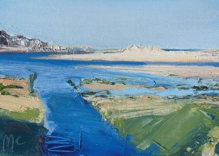 Blue Inlets and Shadow to the Harbour