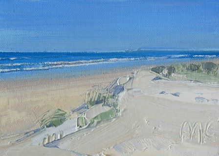 Blue Waters and Sand Dunes - PRINT