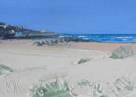 Sand and Clear Blue Sky to the Harbour - PRINT