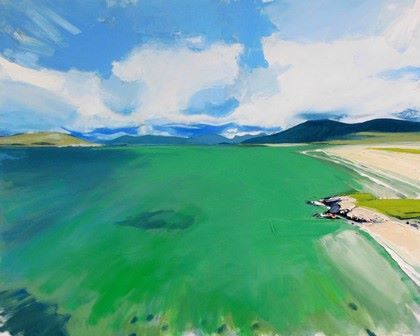 Hebridean Green Waters - PRINT