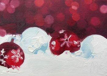 Christmas Baubles - PRINT