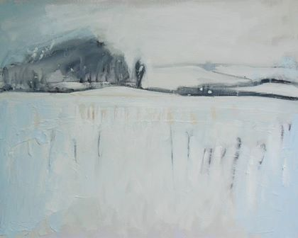 Snow and Distant Hills - PRINT