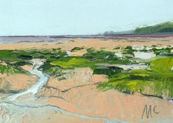 Grass and Channels to Headland I - PRINT