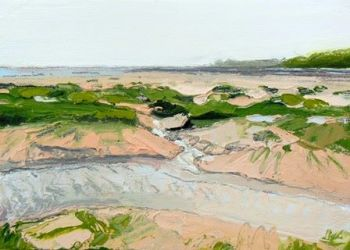 Grass and Channels to Headland II - PRINT