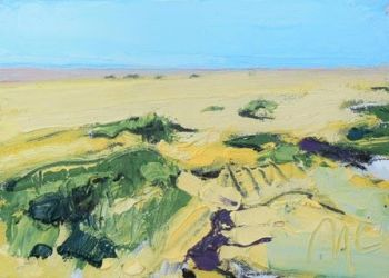 Open Sands at Bardsea - PRINT
