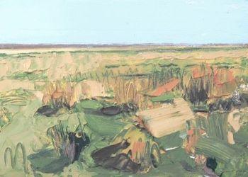 Wild Grass at Bardsea - PRINT