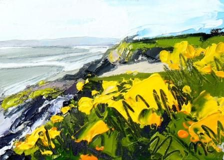 Cliff Edges and Gorse I - PRINT