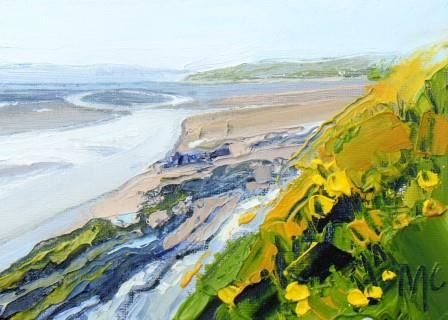 Cliff Edges and Gorse II - PRINT