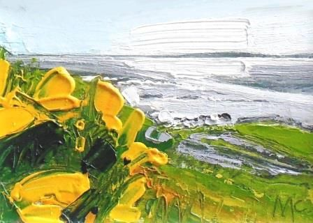 Evening Light and Gorse - PRINT