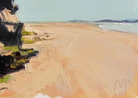 Sand and Rockface I