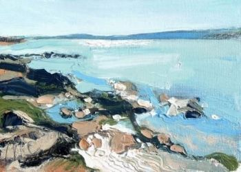 Rockpools and Blue Water I - PRINT