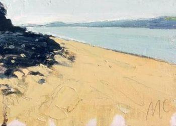 Sand and Shaded Rocks - PRINT