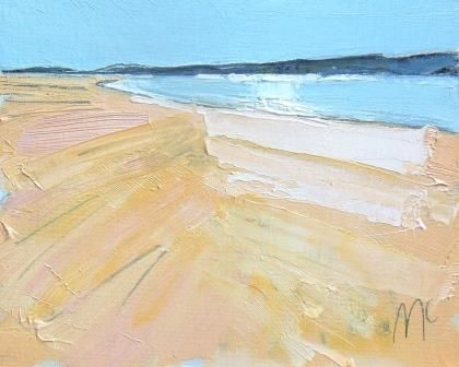Open Sands and Blue Water I - PRINT