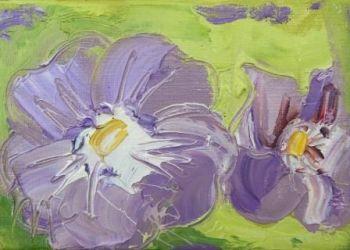Geranium - Purple Flower - PRINT