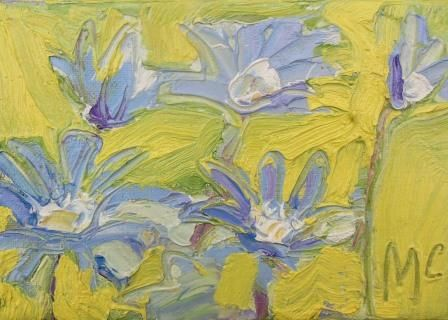 Anemone Blanda - Blue - PRINT