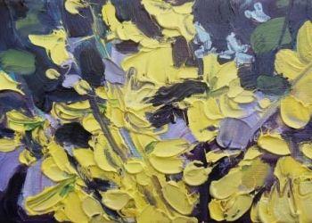 Forsythia - Golden Yellow - PRINT