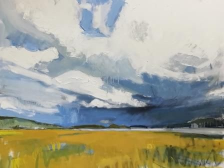 Storm Clouds over the Estuary I - PRINT