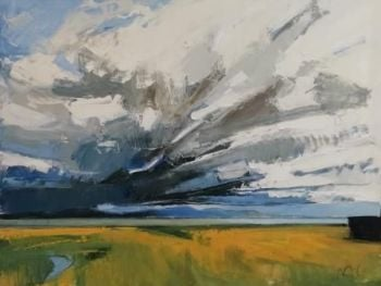 Storm Clouds over the Estuary III - PRINT
