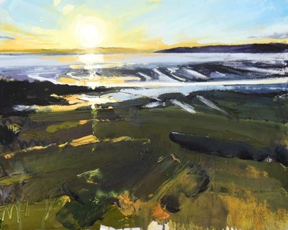 Early Evening Light at Low Tide II - PRINT