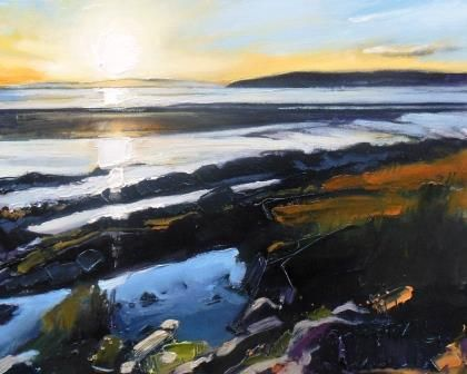 Early Evening Light at Low Tide III