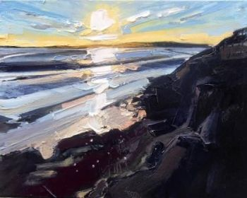 Early Evening Light and Rocks - PRINT
