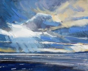 Cloud and Light on the Bay II - PRINT