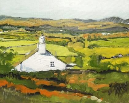 Cottage Down to the Valley - PRINT