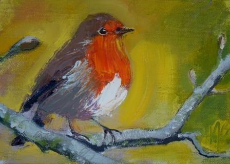 Spring Robin I - PRINT