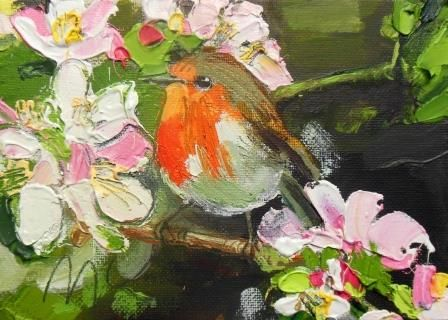 Spring Robin II - PRINT