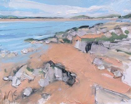 Sand and Rocks to the Viaduct - PRINT