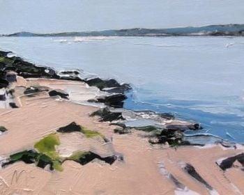 Sand and Blue Water II - PRINT