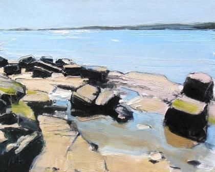 Rockpools and Blue Water II - PRINT