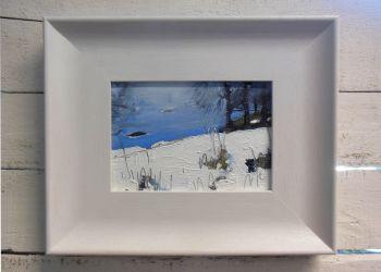 Snow by Misty Lake II