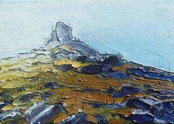 Morning Light and Mist to the Cairn II - PRINT