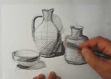 2: Drawing and Painting (for ALL via ZOOM) MONDAY AFTERNOONS - Spring