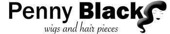Penny Black Wigs, site logo.