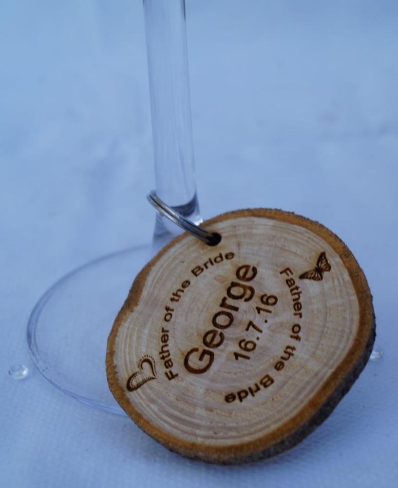 Wine Glass Charms (minimum order quantity of 10)